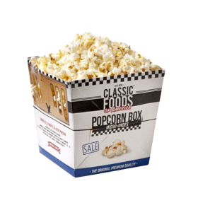 Pop corn salé